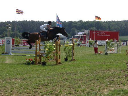 Bezirksmeisterschaften 2008 Wietzetze Hitzacker Springturnier Pferde Springen