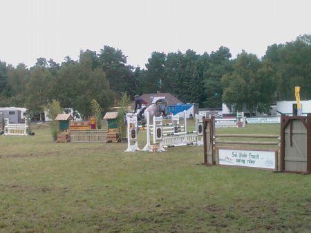 Sören von Rönne 2008 Dannenberg Turnier Springen