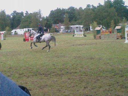 Sören von Rönne Dannenberger Reitertage 2008 Galopp Springreiten