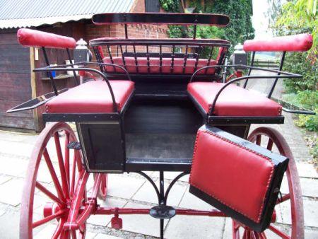 Wagonette Kutsche Zweispänner Break